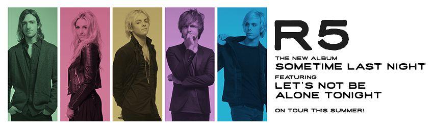 R5 announces sometime last night album and tour home ready 5et r5 sometime last night m4hsunfo