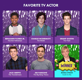 KCA 2015 - Favorite TV Actor
