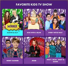 KCA 2015 - Favorite Kids TV Show