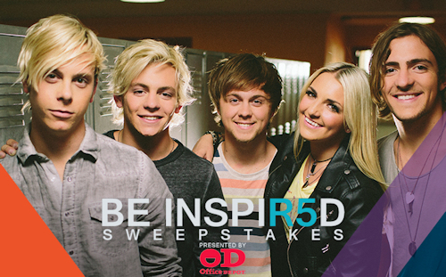 Be INSPIR5D Sweepstakes Presented By Office Depot