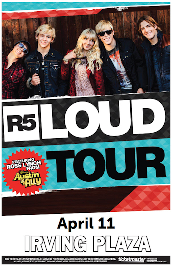 R5 Loud Tour - Live at Irving Plaza