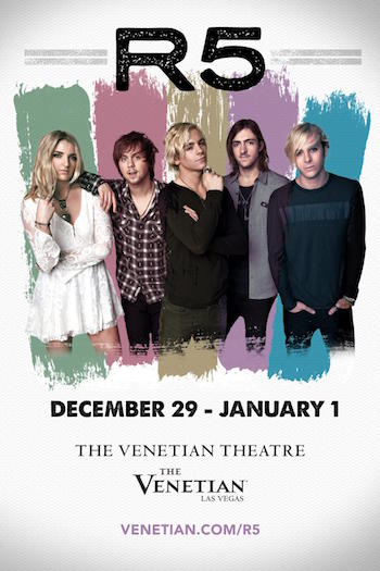 R5 Live at The Venetian Resort Casino