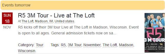 R5 3M Tour - Live at The Loft