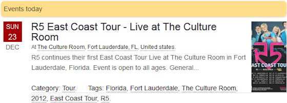 R5 East Coast Tour - Live at The Culture Room