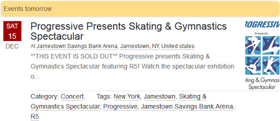 R5 East Coast Tour - Live at The Jamestown Savings Bank Arena