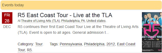 R5 East Coast Tour - Live at the TLA