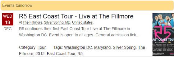 R5 East Coast Tour - Live at The Fillmore