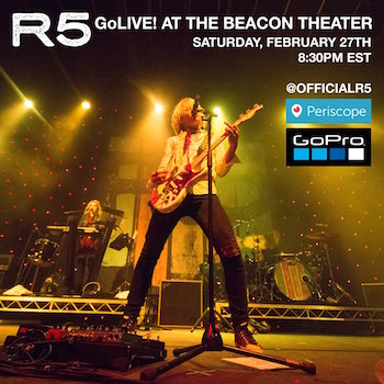 R5 GoLive! at The Beacon Theatre