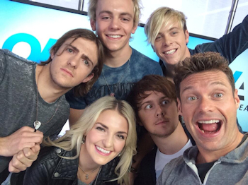 R5 on On Air with Ryan Seacrest April 24, 2014