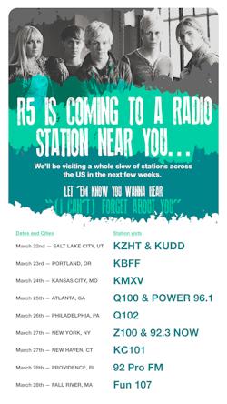 R5 Radio Tour 2014