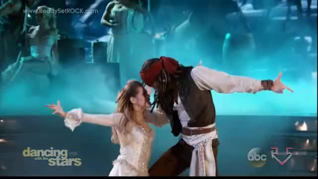 Dancing with the Stars Season 20 - Riker and Allison - Week 5