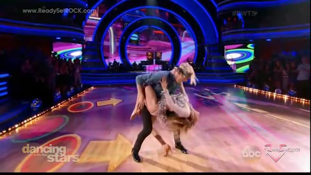 Dancing with the Stars Season 20 - Riker and Allison - Week 6