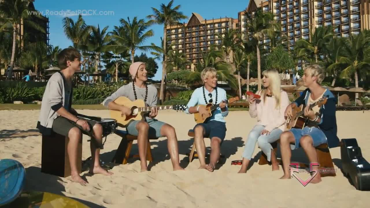 R5 Pass Me By Acoustic Disney Aulani